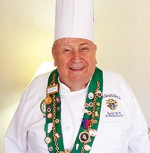Chef Paul medals